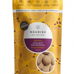Organic Passionfruit Macaroons