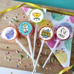 Father's Day Small Lollipops Set