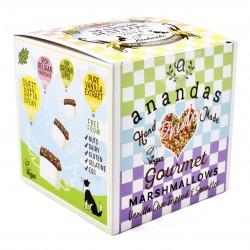 Pride Special Handmade Vegan Vanilla Marshmallows dipped in Belgian chocolate with sprinkles