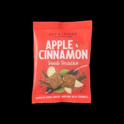 Apple & Cinnamon Seed Snacks (Multipack) - Lightly Baked Bites
