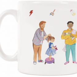 Dads Are Dope Gift Mug