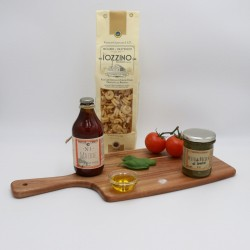 Vegan Friendly Italian Artisan Spaghetti & Sauce Meal Kit