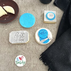 Personalised Father's Day Cookies