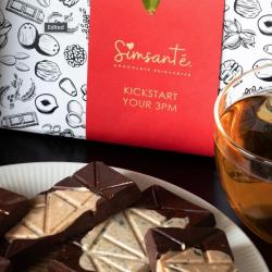 'Kickstart Your 3pm' | Cappuccino Crunch & Chai Tastic Chocolate Bars