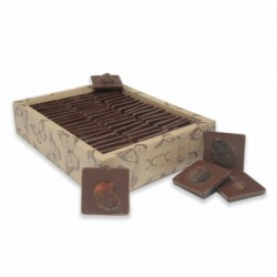 Organic Almond Chocolate with Apricot 1 kg