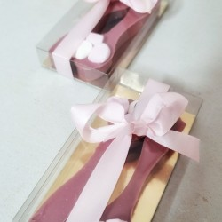 Ruby Chocolate Spoons