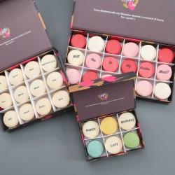 Printed Macaron Gift Boxes