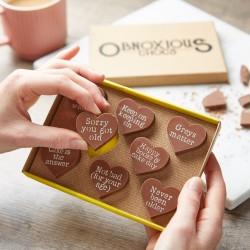 Funny Birthday Chocolate Gift - Obnoxious Chocs