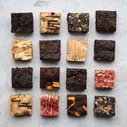 Brownie & Blondie Selection Gift Box | Vegan, Gluten Free, Dairy Free, Eggless