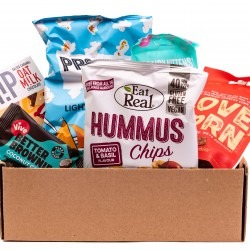 Vegan Hamper with Healthy Vegan Snacks   Gift Box & Vegan Chocolate Gifts, Mini Hamper from The Rider Company