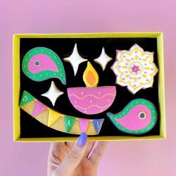Diwali Letterbox Cookies