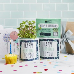 Happy Birthday - Greens & Greetings