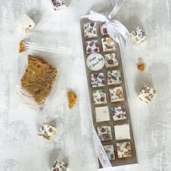 Father's Day Nougat and Honeycomb Gift Set