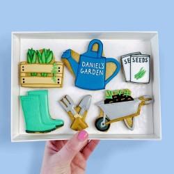 Gardener Letterbox Cookies (Customisable)