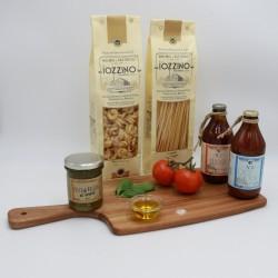 Italian Gragnano Pasta and Artisan Sauce Selection