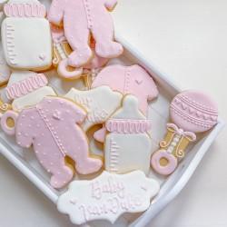 Personalised Baby Shower Cookies (Set of 12)