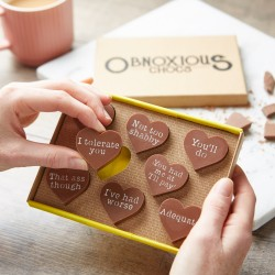 Funny Chocolate Gift for Partners - Obnoxious Chocs