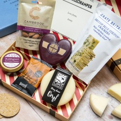 Strong Cheeses Letter Box Hamper