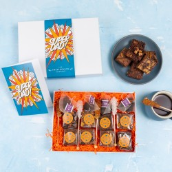 'Super Dad' Afternoon Tea For Four Gift