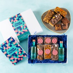 'Thank You Dad' Gin and Treats Gift Box