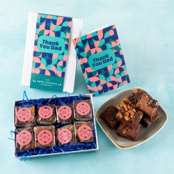 'Thank You Dad' Luxury Brownie Gift