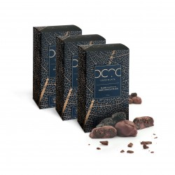 Plums Coated in Dark Chocolate 65% 3 x 200g