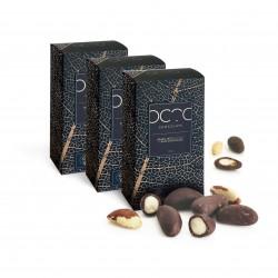 Brazil Nuts Coated in Raw Craft Dark Chocolate