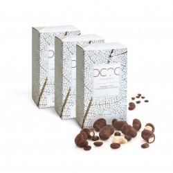 Cashew Nuts Coated in Raw Craft 'Milk' Chocolate