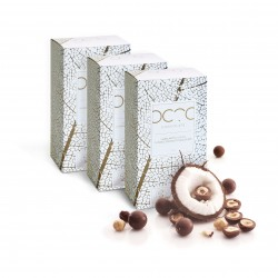 Hazelnuts Coated in Raw Craft 'Milk' Chocolate with Coconut Water 3 x 200g