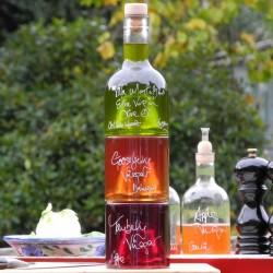 Tuscan Oil and Vinegar Stacking Gift Set (with Gooseberry Vinegar)