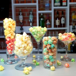 Alcohol infused popcorn snack bag Uniqucorn-tails selection (5x50g bags )