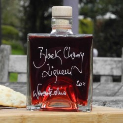 Cube of Black Cherry Gin (500ml)