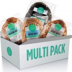 Modern Baker - Mixed Pack Organic Sourdough Bread (4 Loaves)