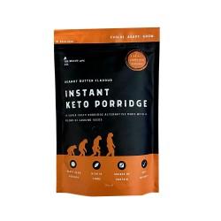 Front Of Pack - Peanut Butter Keto Porridge - The Brave Ape Co.