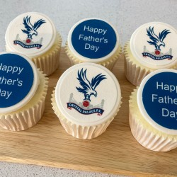 Father's Day Sports Team Cupcakes