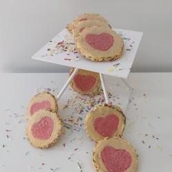 Heart Roll & Slice Cookies Baking Box