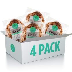 Seedy Seedy Organic Sourdough Bread Four Pack (4 x 600g)