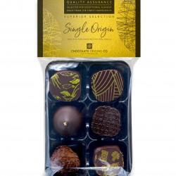 6 Single Origin Chocolate Ganaches Gift Pack