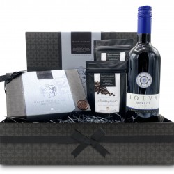 Father's Day Chocolate and Red Wine Small Gift Hamper