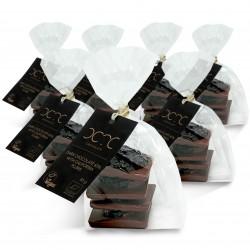 One Bite – Dark Chocolate 65% with California Plums 7 x 85g – BIO