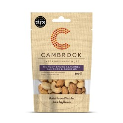 Hickory Smoke Seasoned Almonds & Cashews by Cambrook