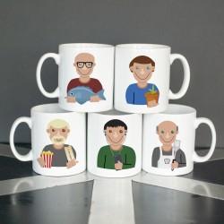 Personalised Hobby Mug for Men