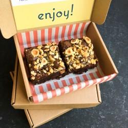 Letterbox Friendly Vegan Brownies (box of 2)