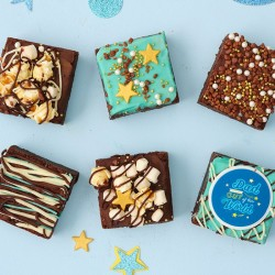 Father's Day Brownies - Brownies by Lola's