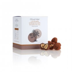 72% Dark Chocolate Hazelnuts Cocoa Dusted
