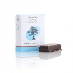Sea Salt Caramel Bars Enrobed in 72% Dark Chocolate ( 3 boxes 2 bars in each)
