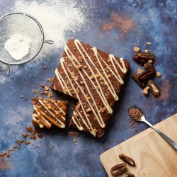Sticky Toffee Letterbox Cake