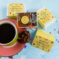 Happy Birthday Confetti Mini Afternoon Tea Gift
