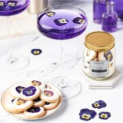 Viola Flower Biscuits