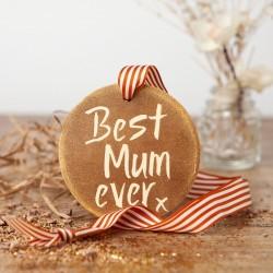 Best Mum Ever Chocolate Gold Medal